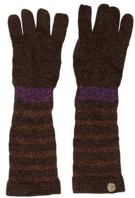 Marc by Marc Jacobs Wool-Blend Fingerless Gloves