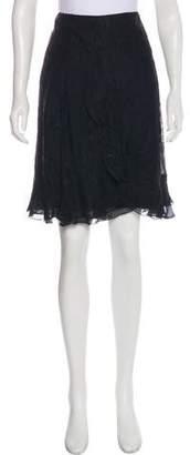 Christian Lacroix Knit Knee-Length Skirt