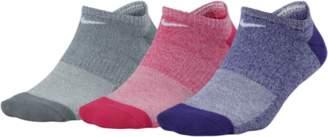 Nike 3 Pk Performance Cushioned No-Show Socks - Women's