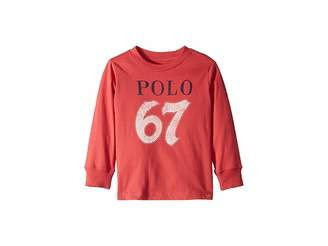 Polo Ralph Lauren Cotton Jersey Graphic T-Shirt (Toddler)