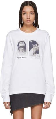 Helmut Lang White Peter Hujar Edition Long Sleeve T-Shirt