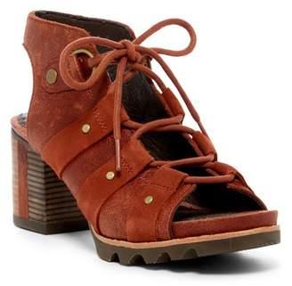Sorel Addington Block Heel Sandal