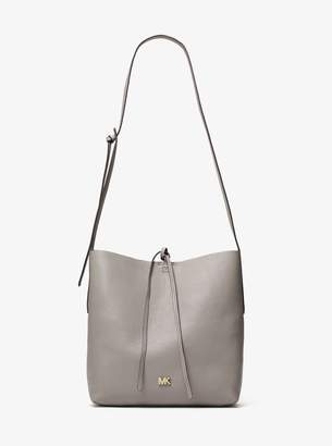 MICHAEL Michael Kors Junie Large Pebbled Leather Messenger