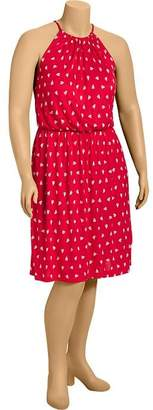 Old Navy Women's Plus Nautical-Print Jersey Dresses