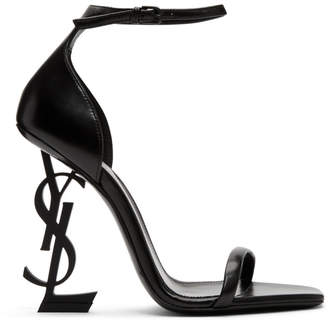 b8e3bdf6f0cd Saint Laurent Black Women s Sandals - ShopStyle