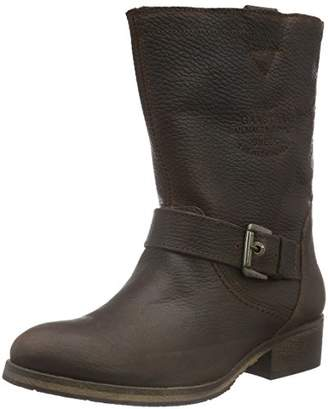 Gaastra Women's Gioia HIGH TMB Fur Ankle Boots, (2200 Dark Brown)