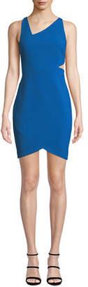 LIKELY Skyler Asymmetric Cutout Short Bodycon Dress