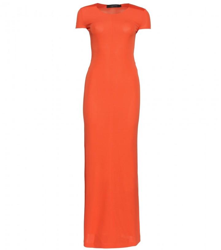 Calvin Klein Collection SHORT SLEEVE LONG DRESS