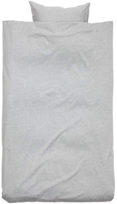 H&M Jersey Duvet Cover Set - Gray