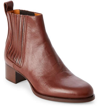 Veronique Branquinho Whiskey Block Heel Chelsea Boots