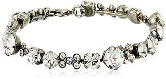 Sorrelli Core Antique Silver Tone Crystal Well-Rounded Bracelet