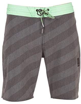 "Volcom Men's Stripey Stoney 19"" Boardshort"