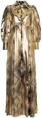 Gucci Floral Print Maxi Gown