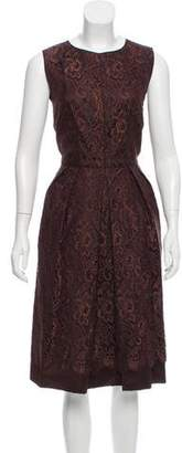 Dolce & Gabbana Sleeveless Lace Dress