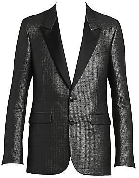 Givenchy Men's Two-Button Evening Peak Lapel Jacket