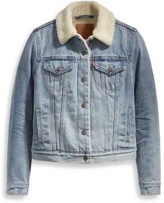 Levi's Original Faux Shearling Lined Trucker Jacket
