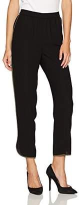 Nine West Women's Crepe Elastic Waist Pants
