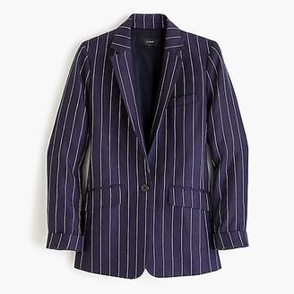 J.Crew Boy blazer in pinstriped linen