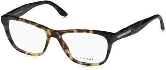 Prada PR04TV Eyeglass Frames U6M1O1-54 - /Spotted Green
