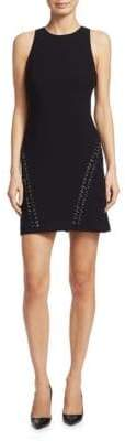Elizabeth and James Cleary Embellished Mini Dress