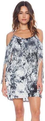 VaVa - Maxine Open Shoulder Dress Grey (VD9415) $81 thestylecure.com