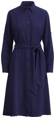 Ralph Lauren Fit-and-Flare Shirtdress $145 thestylecure.com