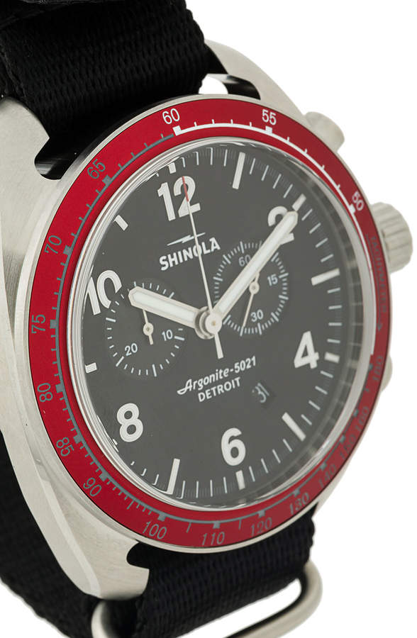 Shinola The Rambler Tachymeter 44mm watch
