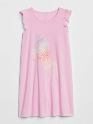 Gap Unicorn Flutter PJ Dress