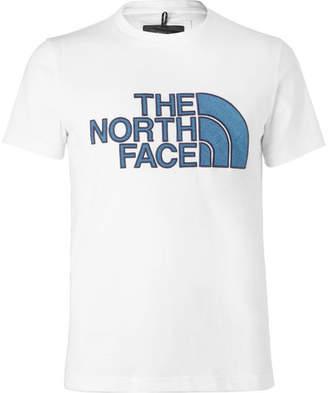 The North Face Black Series City Slim-Fit Appliquéd Cotton-Blend Jersey T-Shirt