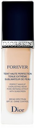 Dior Diorskin Forever Perfect Foundation Broad Spectrum Spf 35 - 010 Ivory $50 thestylecure.com