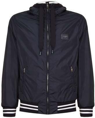 Dolce & Gabbana Hooded Lightweight Jacket