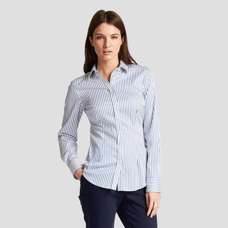 Sasha Wide Stripe Shirt $165 thestylecure.com