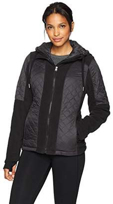 Calvin Klein Women's Polar Fleece and Down Cire Jacket