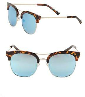 Sam Edelman 50.8MM Clubmaster Sunglasses