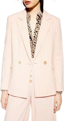 Topshop Coco Linen Blazer