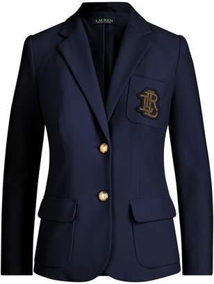Lauren Ralph Lauren Ralph Lauren Crest Cotton Pique Blazer