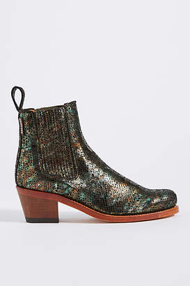 Penelope Chilvers Salva Metallic Leather Boots