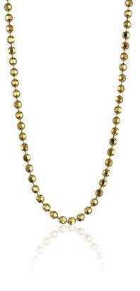 "Alex Woo Chain"" 14k Yellow Diamond-Cut Ball Chain"
