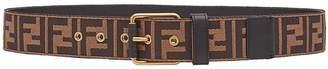 Fendi embossed logo belt