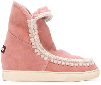 Mou Eskimo inner wedge boots