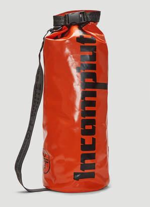 Off-White Off White Incompiuto Print Backpack in Orange