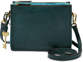 Fossil Campbell Mini Leather Crossbody