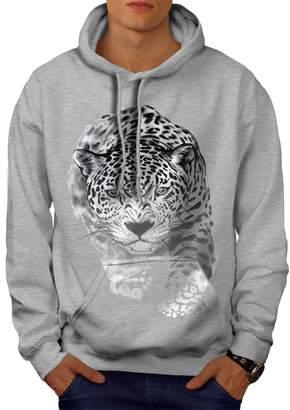 Puma Wellcoda Mens Hoodie, Cat Denim Hooded Sweatshirt M