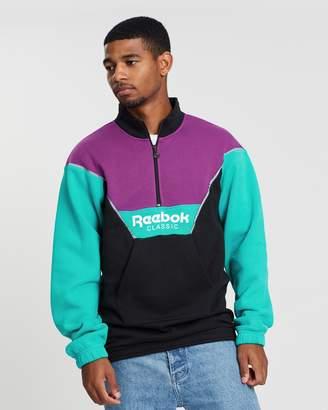 Reebok Half-Zip Unisex Cover-Up Sweatshirt