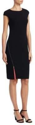 Emporio Armani Cap-Sleeve Sheath Dress