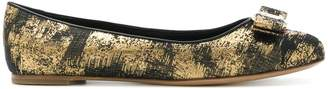 Salvatore Ferragamo embellished Varina ballerina shoes
