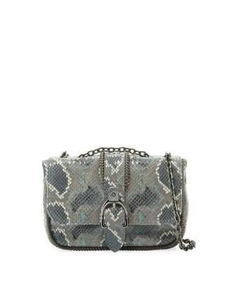 Longchamp Amazon Python Mini Crossbody Bag, Gray