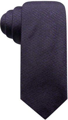 Alfani Men's Circle Dot Slim Silk Tie
