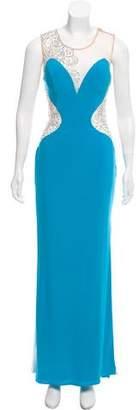 Jovani Sleeveless Embellished Gown