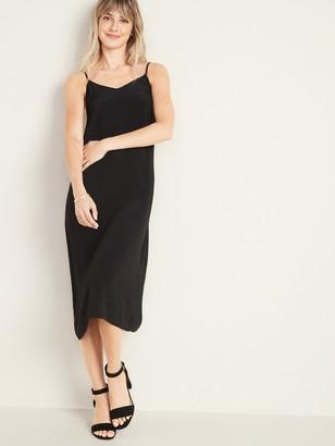 Old Navy Sleeveless V-Neck Midi Slip Dress for Women